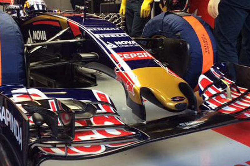 Toro Rosso: ecco la STR10 con il muso corto