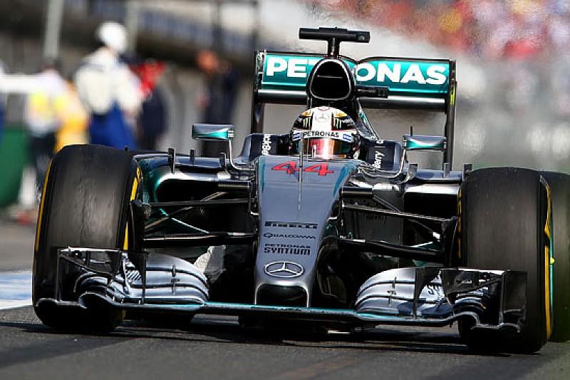 Hamilton batte Rosberg a Melbourne, Vettel sul podio