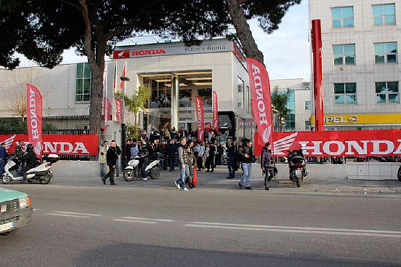 Miller inaugura la nuova sede Honda Palace Roma