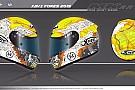 Xavi Forés presenta il nuovo casco per Aragon