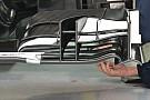 Sauber: l'ala anteriore è completamente nuova