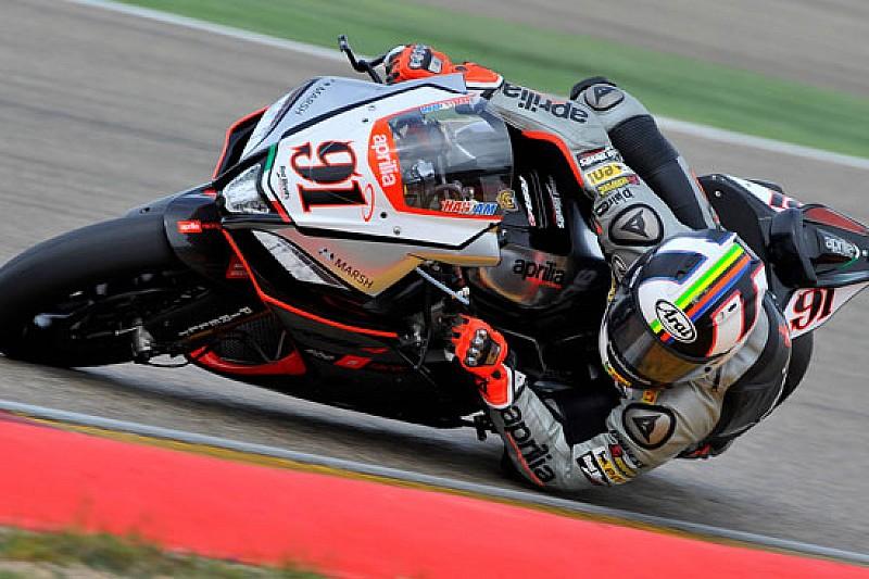 Haslam soddisfatto del podio di gara 2 ad Aragon