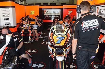 Il Forward Racing ha provato nuovo materiale Ohlins
