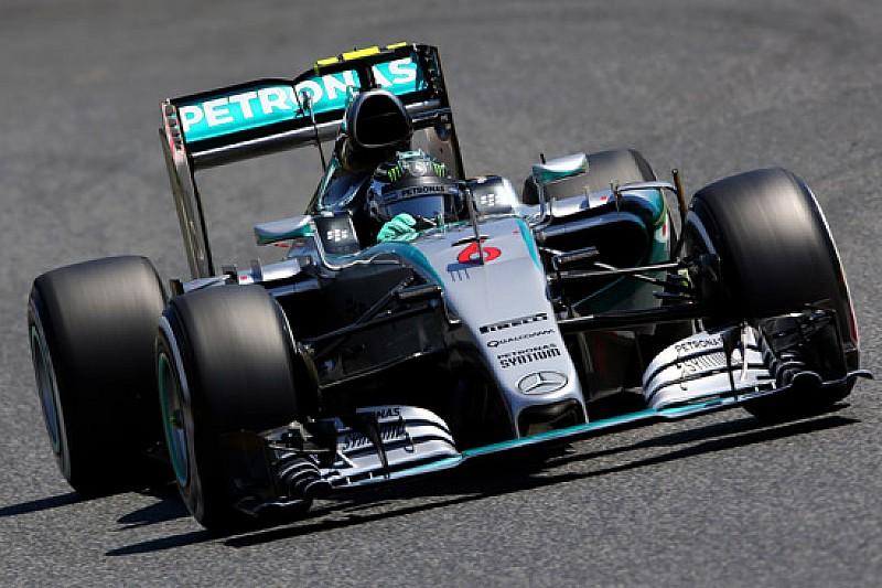 Barcellona, Day 1: Rosberg tiene davanti la Mercedes