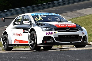 WTCC Race report Muller pips Lopez in race two Nordschleife epic