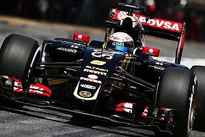 Формула 1 Новость Грожан потеряет пять мест на старте