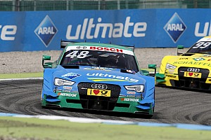 DTM Preview Audi travels to the Lausitzring with tailwind