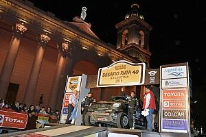 Cross-Country Rally Noticias de última hora Ante una multitud, arrancó el Desafío Ruta 40