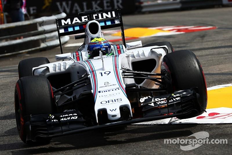 """Ficando no Q2, Massa diz que eficiência da Williams """"não funciona"""" em Mônaco"""