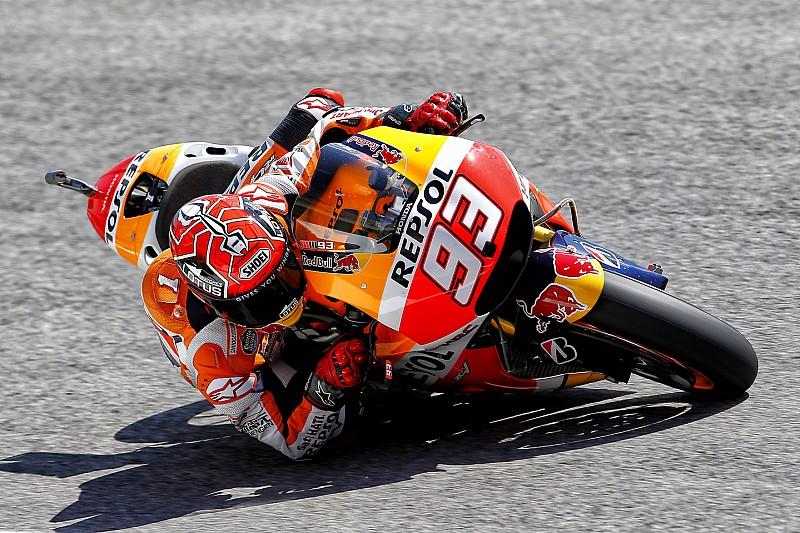 Márquez no logra avanzar a la Q2 y Lorenzo domina