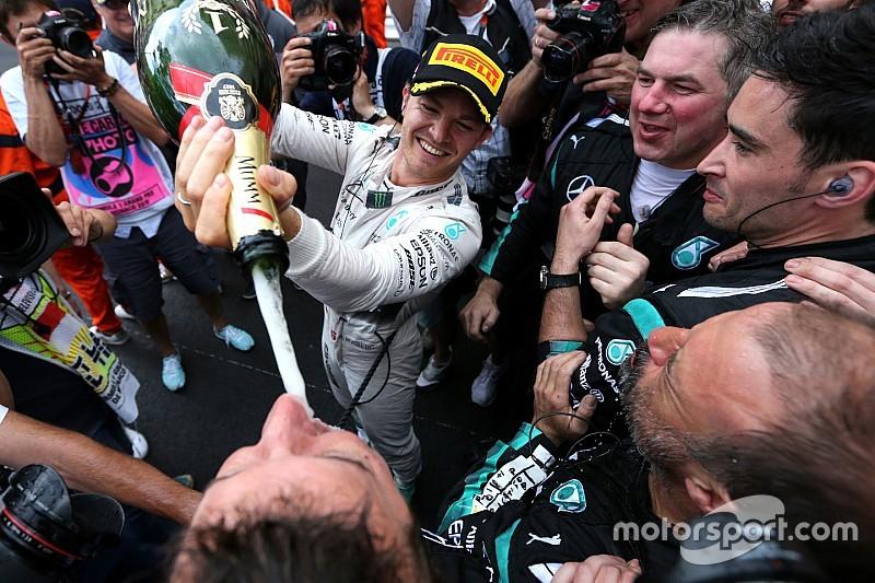 Rosberg quiere aprovechar el momento