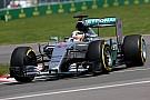 Hamilton fue el más veloz en la práctica 1