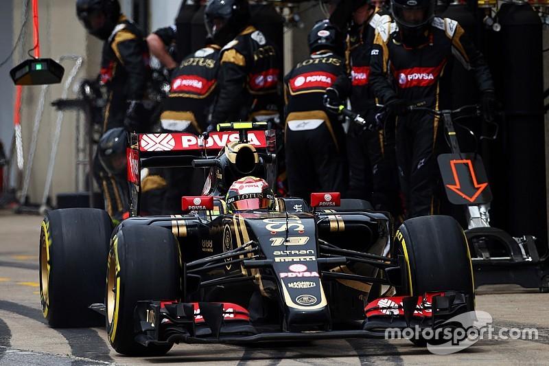 Maldonado marque ses premiers points en 2015