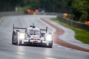 24 heures du Mans Résumé d'essais libres Essais Libres - Porsche entre les gouttes