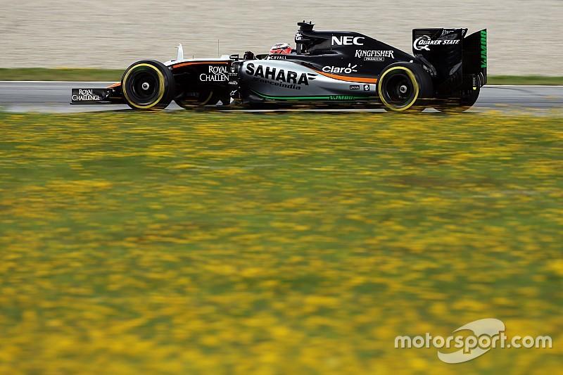 Подготовка новой машины Force India идет по плану