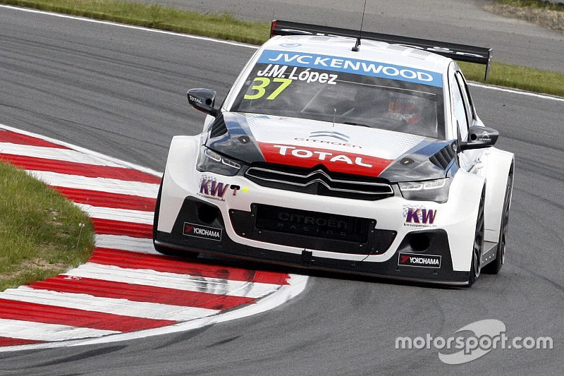 Lopez on top in first practice in Slovakia