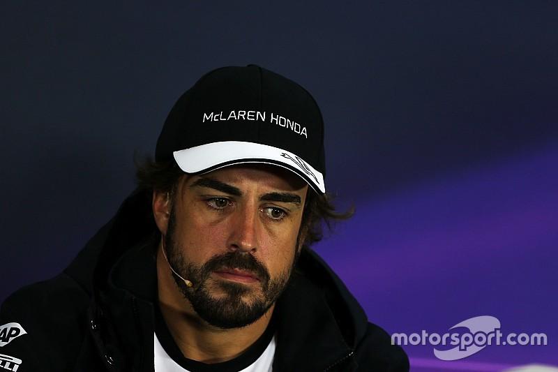 Alonso lo toma como un fin de semana de test