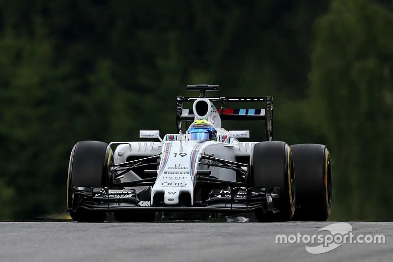 Massa qualified fourth and Bottas sixth for tomorrow's Austrian GP