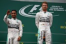 Hamilton aceptó la superioridad de Rosberg