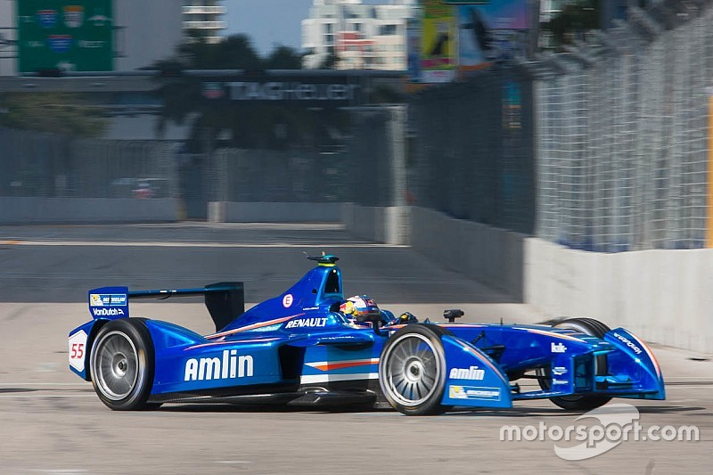 Amlin set to split with Aguri Formula E team