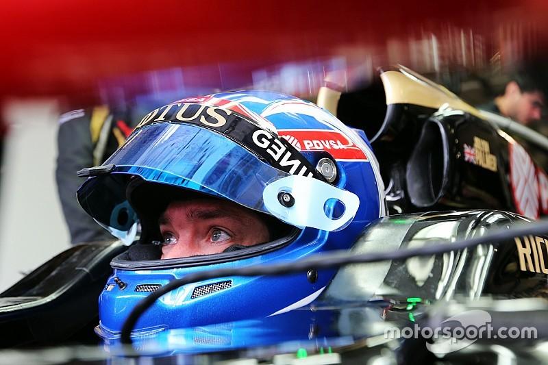 Палмер не перейдет в основной состав Lotus в 2016 году