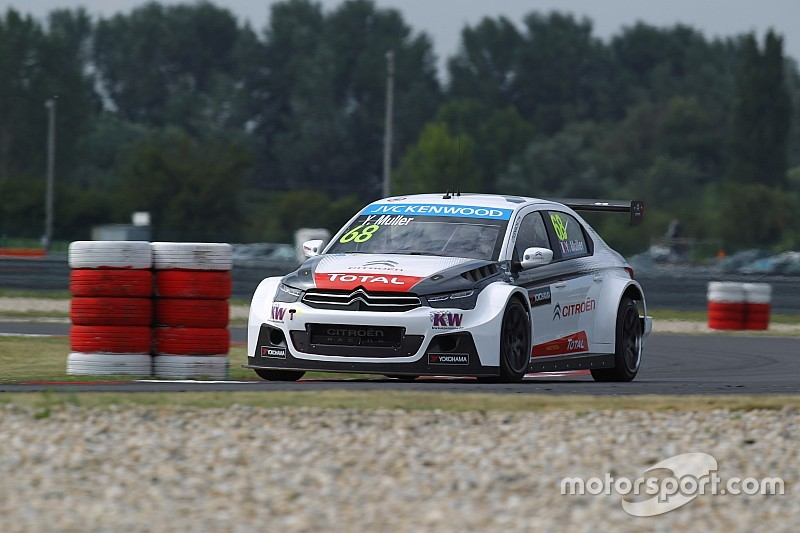 Muller leads the way in first Paul Ricard practice