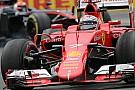 Räikkönen - La SF15-T reste