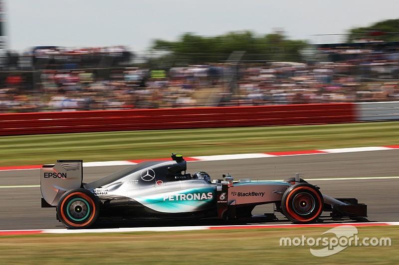 British GP: Rosberg fastest from Raikkonen in second practice