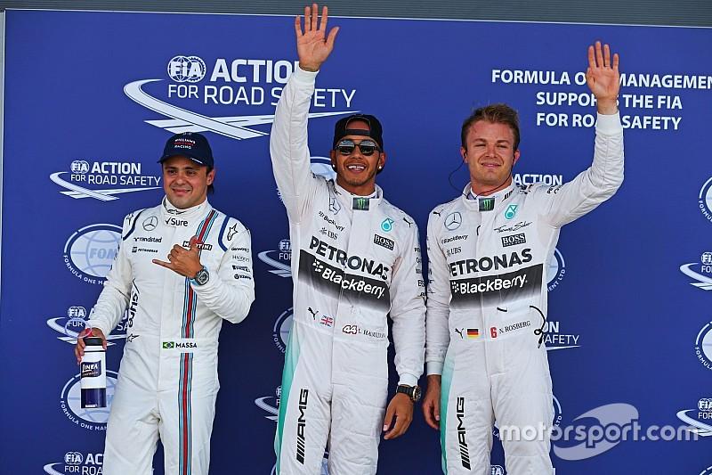 Hamilton supera a Vettel