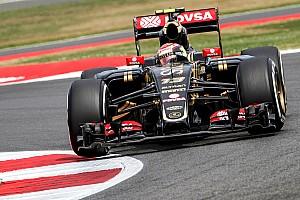 F1 Noticias de última hora Maldonado, disconforme con el balance de su auto