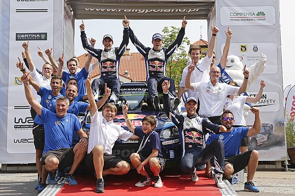 Rally de Polonia: Ogier vuelve a ganar y Latvala choca en el final