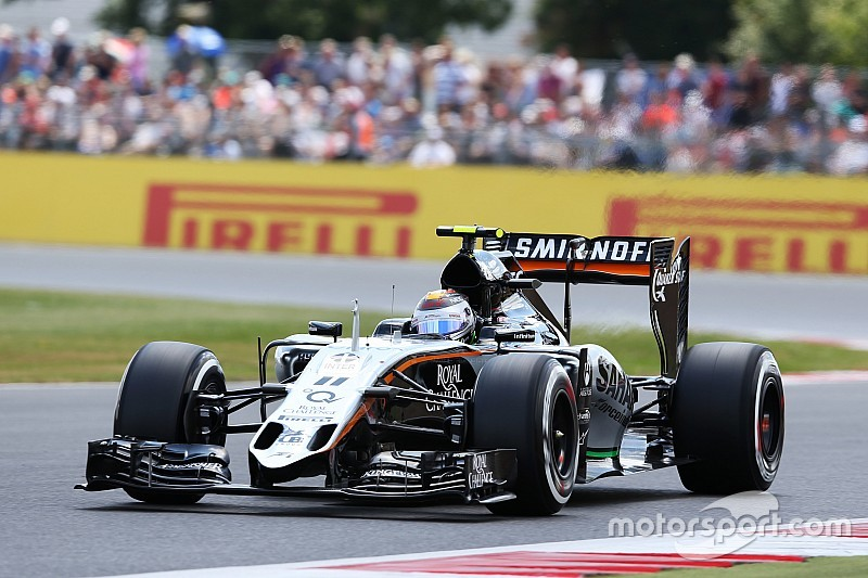 Sahara Force India scored eight points in today's British GP