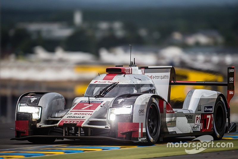 Audi hit with post-Le Mans penalties for engine seal violation