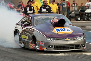 NHRA Preview Defending Pro Stock event winner Vincent Nobile senses 2015 luck about to change at Route 66