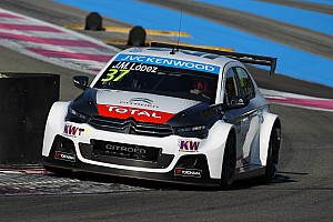 WTCC Testing report Lopez leads delayed Vila Real test session