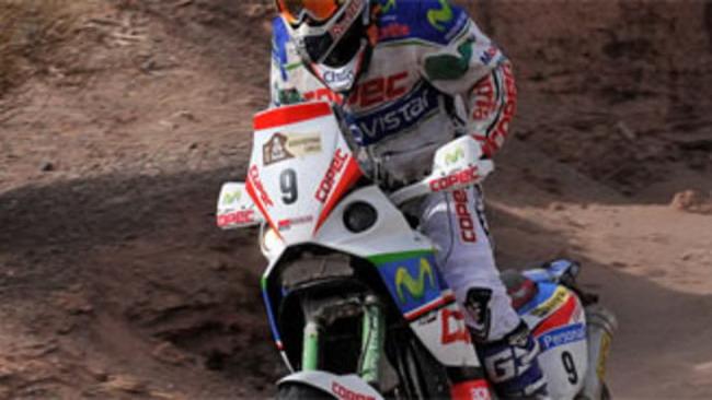 Dakar 2010: Lopez su Aprilia vince la 5^ tappa