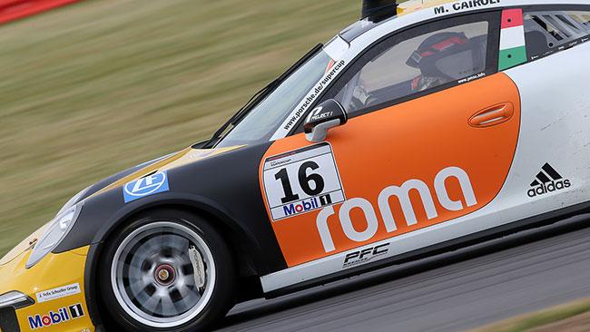 Matteo Cairoli chiude sesto la gara di Silverstone