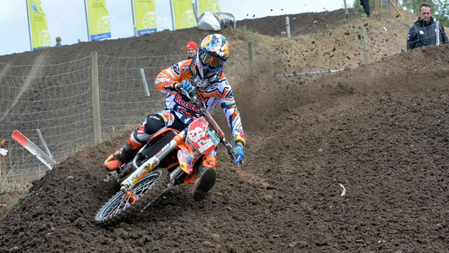 Jeffrey Herlings stringe i denti e in Svezia ci sarà