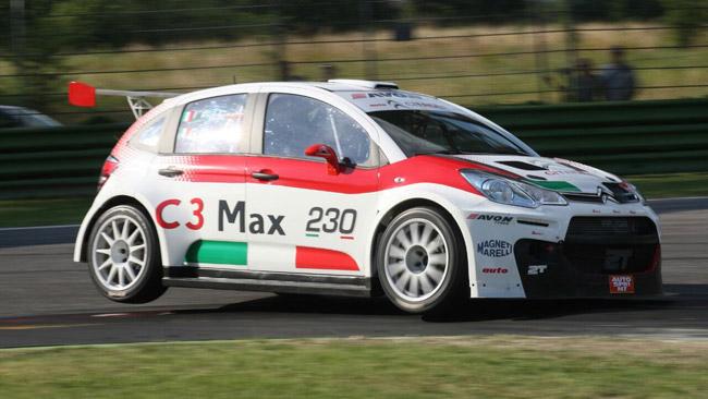 La nuova Citroen C3 Max migliora di gara in gara