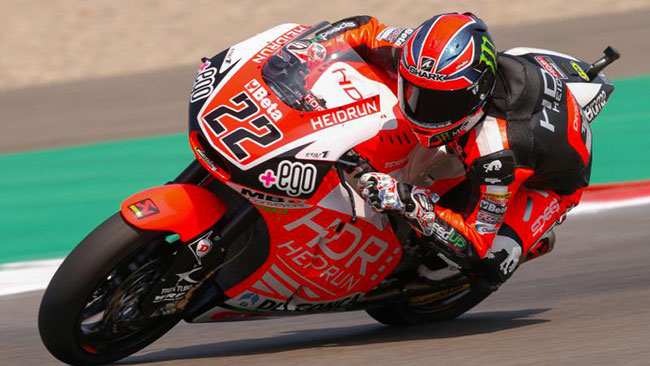 Assen, Libere 1: Lowes beffa Aegerter in extremis