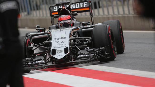 Force India: ecco il nuovo muso che è dotato di narici