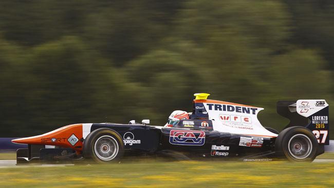 Seconda pole di fila per Luca Ghiotto in Austria