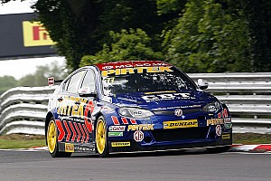 BTCC Breaking news Jordan commits to BTCC for further three seasons