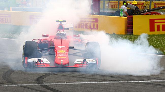 """Kimi: """"Il testacoda? Sbagliata mappatura del motore"""""""