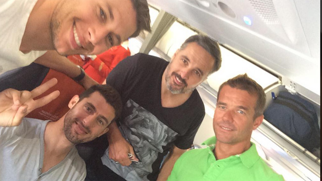 """Lopez: """"In volo per Mosca con i compagni e Duval"""""""