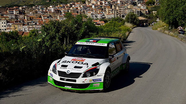 Secondo posto per Scandola al Rally Targa Florio