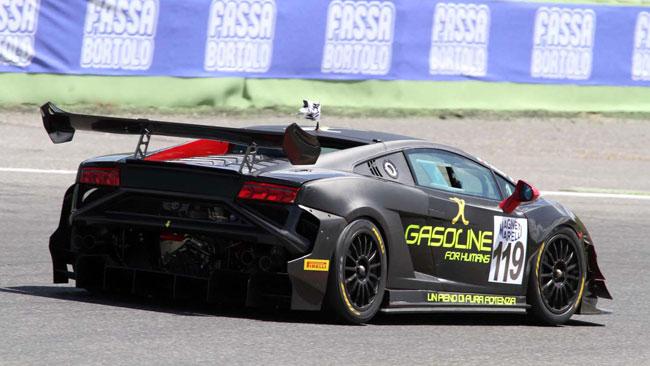 Carboni passa sulla Lamborghini della Eurotech