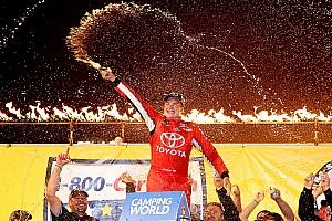 NASCAR Truck Race report Bell wins third annual MudSummer Classic in third Truck start