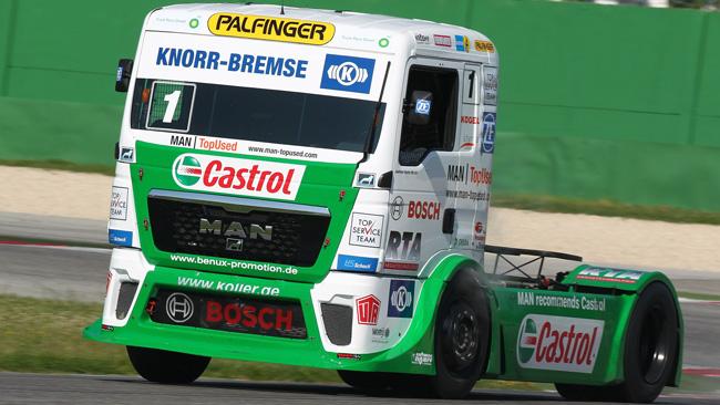 Castrol Hahn Team punta alla FIA European Truck Cup