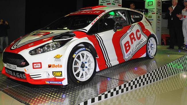 Csai: ridotti 17 kg alla Ford Fiesta R5 a gas della BRC